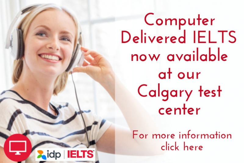 Computer delivered IELTS available at Global Village Calgary test center